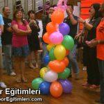 Balon Süsleme ile Ekip Çalışması