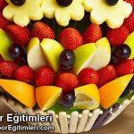 Meyveli Çikolata Yapma Çalışması – Pastanı Yap – Aktivite